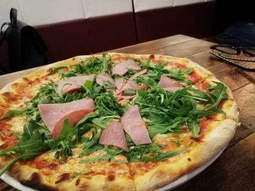 Pizza Al Crudo - SGD 20