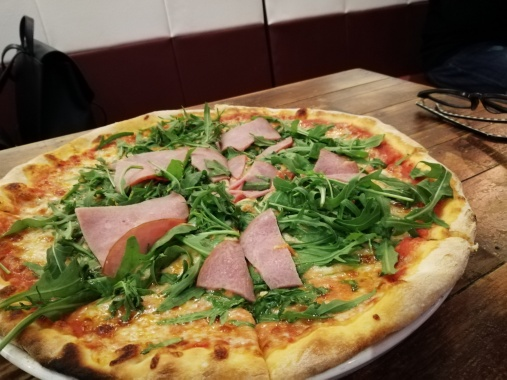 Pizza Al Crudo - SGD 20